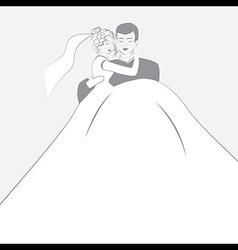 Wedding logotype vector image vector image