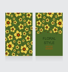 0415 13 lent lily yellow7 v vector