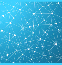 abstract geometric background with connecting vector image