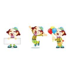 Clown 1 vector image vector image
