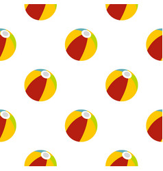 Colorful ball pattern seamless vector