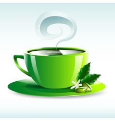 Cup of tea design vector image