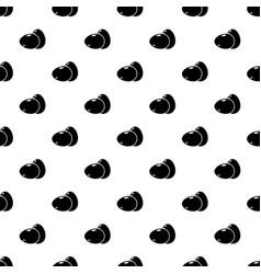 Eggs pattern seamless vector