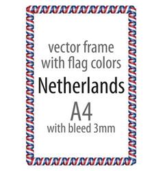 Flag v12 netherlands vector