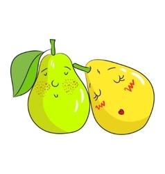 Fruit pear vector