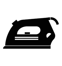 Iron icon simple style vector