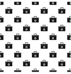 Medicine chest pattern vector