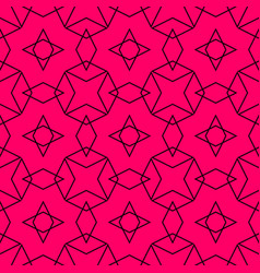 Tile pattern or pink and black background vector