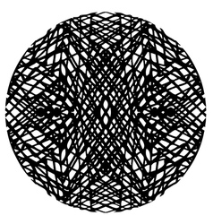 doodle circle 2 vector image vector image
