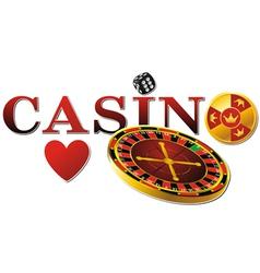 Casino roulette vector