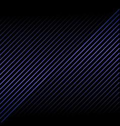 abstract blue metallic diagonal line pattern vector image