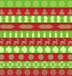 Christmas ribbon vector image