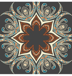 Colourful ornamental background vector