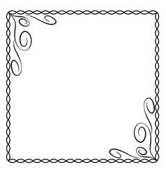 frame black 5 2111 vector image