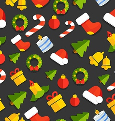 GiftPatternChristmasNewYear vector image