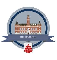 Helsingborg vector image