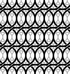 Monochrome vintage style netting seamless pattern vector