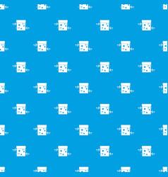 sword box pattern seamless blue vector image