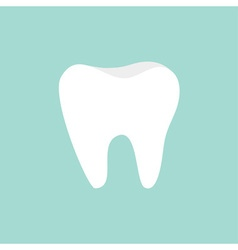 Tooth icon Healthy tooth Oral dental hygiene vector image