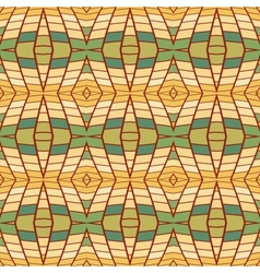 pixel modern geometric seamless pattern vector image vector image
