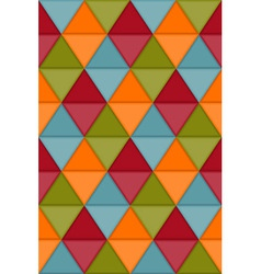 Seamless hipster geometric pattern vector image vector image