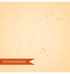 Vintage retro grunge old paper texture background vector image