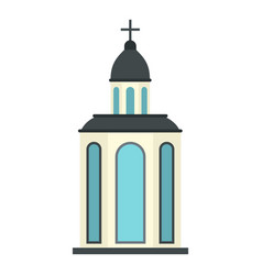 church icon isolated vector image