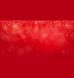 red shine background abstract elegant shining vector image vector image