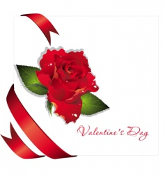 valentine illustration vector image vector image