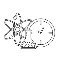 atom icon image vector image vector image
