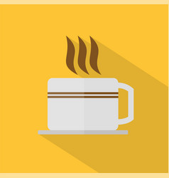 coffee icon set of great flat icons with style vector image