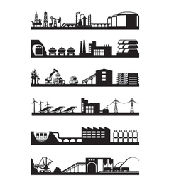 Extraction and processing natural resources vector