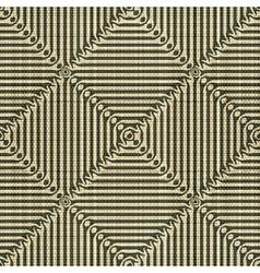 geometric textile print vector image