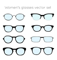 Glasses 4 vector image