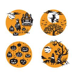 halloween 10 vector image