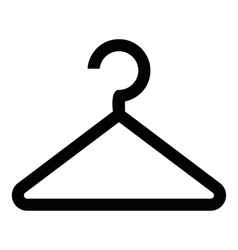Hanger icon simple style vector image