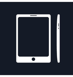Phone Isolated on Black Background vector