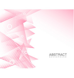 Pink abstract modern background vector