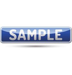 Sample button vector