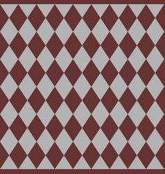 Tile brown and grey pattern or website background vector