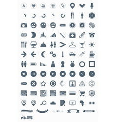 signs symbols and pictograms vector image