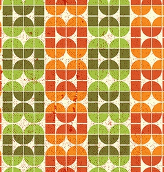 Abstract colorful tiles seamless pattern vector image