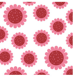 Floral pattern background decoration card vector