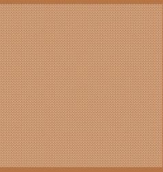 Beige winter monochrome knitwear texture empty vector