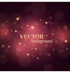 Bokeh Lights Background vector image