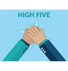 High five vector