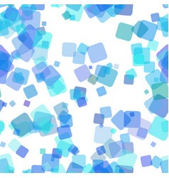 Seamless abstract square background pattern vector