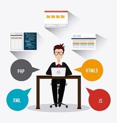 Software digital design eps 10 vector