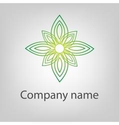 Abstract logo icon concept vector image