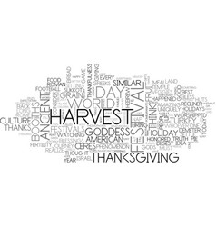 A history of thanks text word cloud concept vector